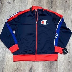 Champion men's zippered track jacket